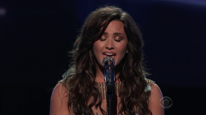 Demi Lovato If I Can't Have You GRAMMYs Tribute to the Bee Gees 2017