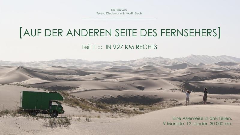 In 927 km rechts I Teil 1 I AUF DER ANDEREN SEITE DES FERNSEHERS [Vanlife][Reisedoku][Roadmovie]