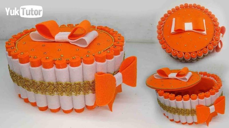 Ide Kreatif - Tempat Permen Dari Kain Flanel || Candy Place || Handmade