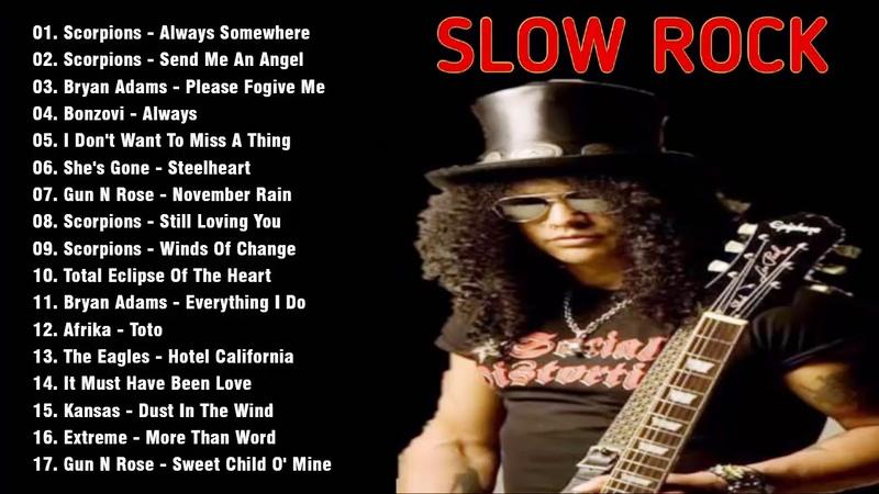 Lagu Nostalgia Slock Rock Barat 90'an Terbaik dan Terpopuler Slow rock love song nonstop📻