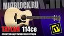 Taylor 114ce - обзор электроакустической гитары