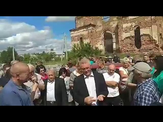 Губернатор пензенской области на сходе в Чемодановке - США дестабилизирует ситуацию в Пензе