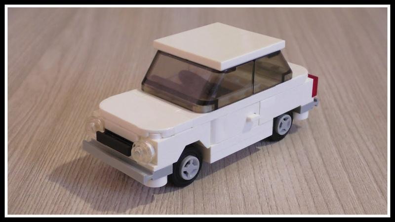 Lego Самоделка Автомобиль ЗАЗ 968 Запорожец из Лего