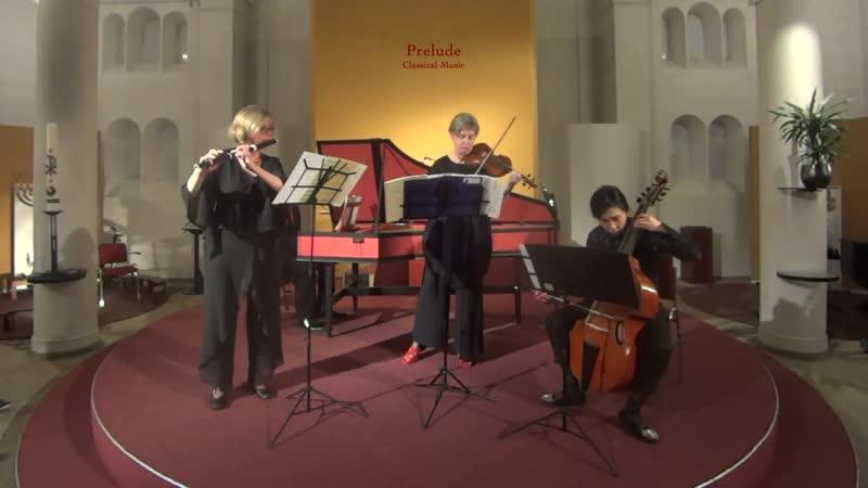 1079 J S Bach Sonata sopr il soggetto Reale a traversa violino e continuo Musikalisches Opfer BWV 1079 Bach Players