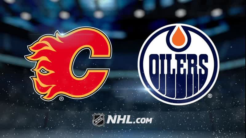 NHL | Calgary Flames vs Edmonton Oilers НХЛ | Калгари Флэймз и Эдмонтон Ойлерз