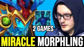 MIRACLE Morphling Beautiful Ulti Plays - Pretty Ez Game & Hard Game