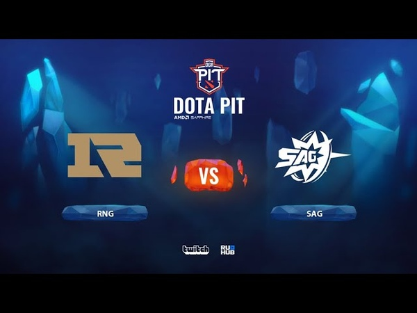 RNG vs SAG OGA Dota PIT Season 2: China bo3 game 2 Maelstorm Lost