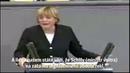 Angela Merkelová ve dvou minutách