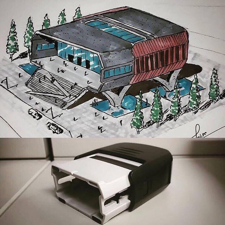 Как может видеть простые вещи архитектор