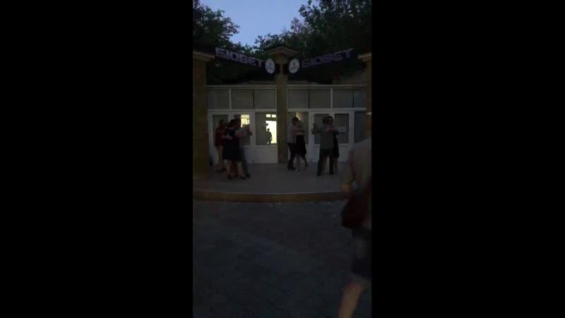 Live: 17 августа в ритме танго БОЛЬШОЙ ТАНГО ФЛЭШМОБ Ш