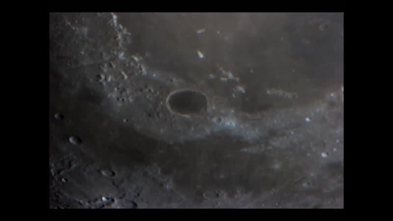 Луна в 254 мм телескоп 20. 08. 2019 .