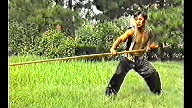 Шест тяжёлый китайский 大杆 Very long stick to exercise Elastic Power