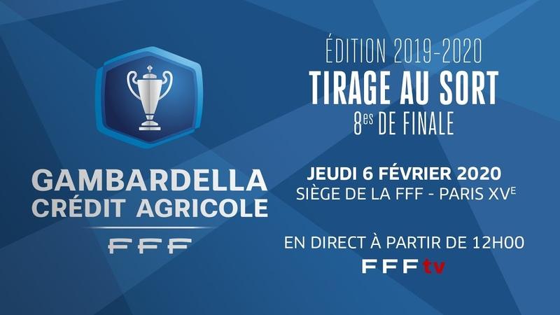 Le tirage des 8es de finale en direct 12h I Coupe Gambardella Crédit Agricole
