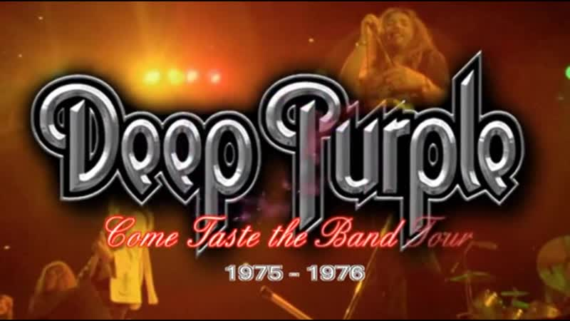 Deep Purple Come Taste the Band Tour 1975 1976 arhiv