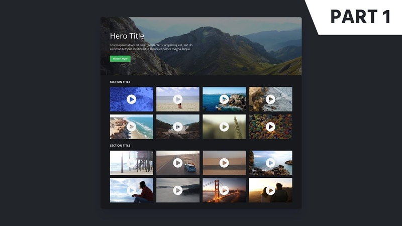 Figma Web Design Tutorial: Step-by-Step Video Channel Web Design
