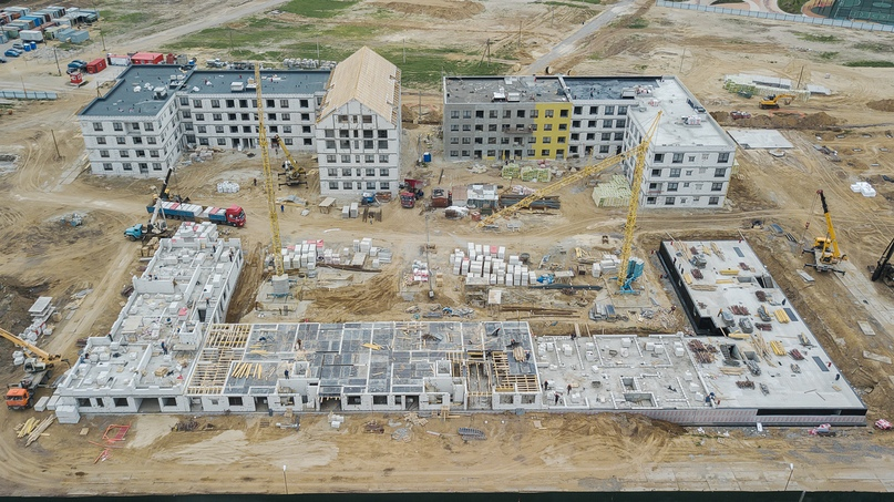 Отчет о ходе строительства квартал «Среда» май 2020, изображение №30