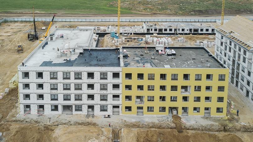 Отчет о ходе строительства квартал «Среда» май 2020, изображение №20