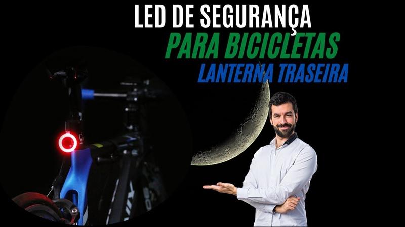 LED de Segurança para Bicicletas Lanterna Traseira