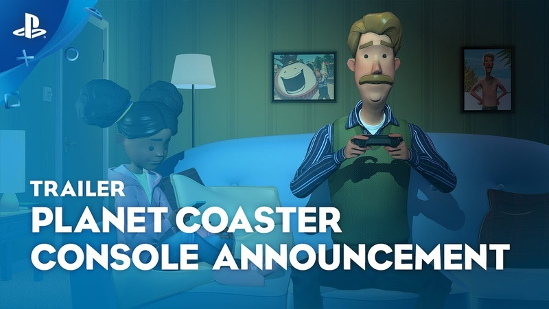 Planet Coaster: Console Edition - Announcement Trailer | PS4