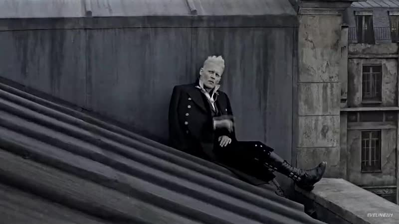 Gellert Grindelwald Blood in the Water