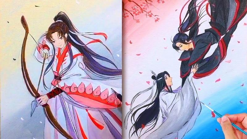 Nghệ thuật vẽ tranh đỉnh cao của họa sĩ Trung Quốc50💘Tranh vẽ cổ trang💘Art Drawing💘Painting artist