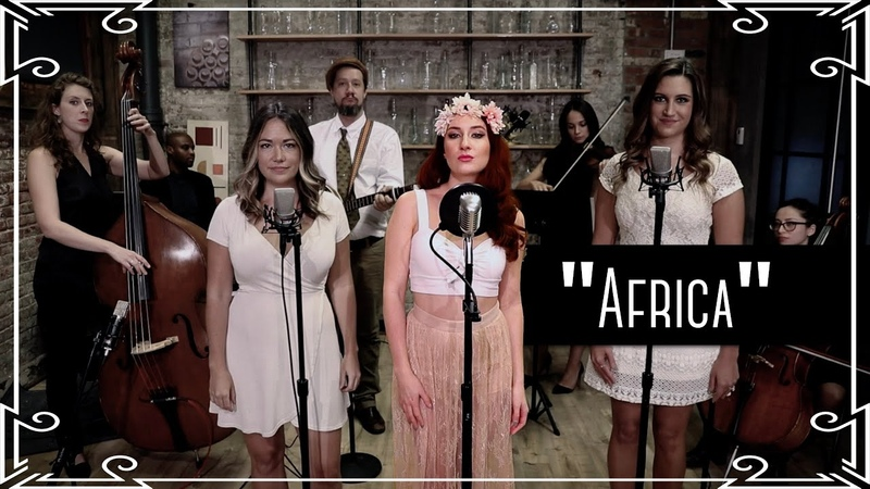 """""""Africa"""" (Toto) Bluegrass Cover by Robyn Adele Anderson ft. Carolyn Miller and Jen Kipley"""