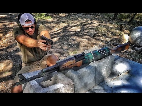 100 Bullets vs AK47, Will it Survive?