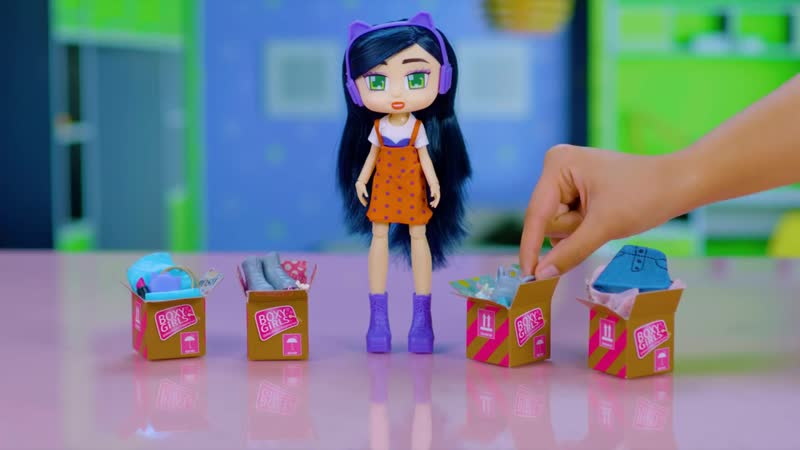 Boxy Girls Dolls Official Commercial 2018