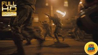 Шквал огня по Монстру.Эпизод к\ф«Монстро» (Кловерфилд, англ. Cloverfield, досл. Клеверное поле)