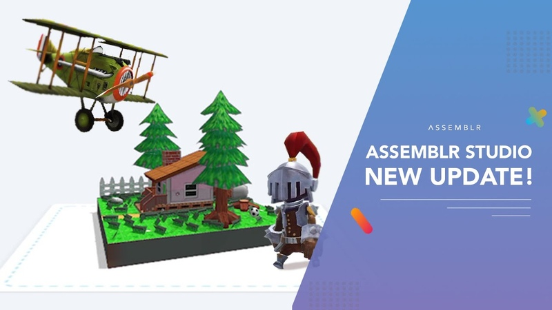 Assemblr Studio NEW UPDATE! With Extra Slots
