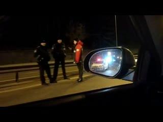 Авария на Горьковском шоссе