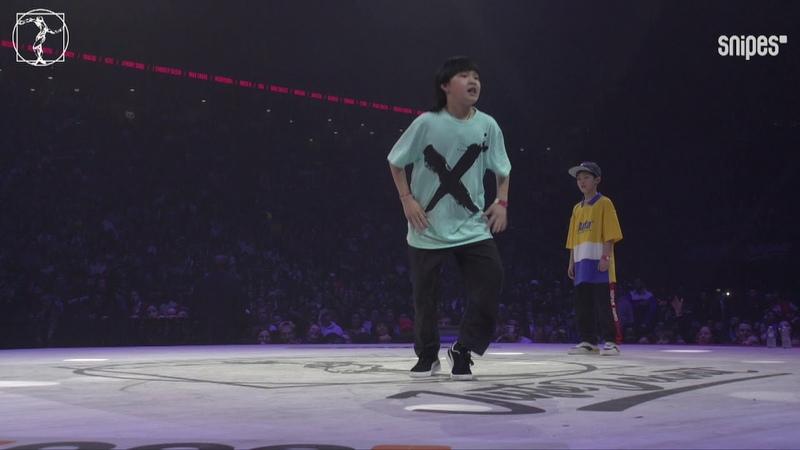 Hip hop quarter final - Waydi Rochka (Criminalz) vs Yu Wen Le Fu Tian Zong - JusteDebout JusteDebout2019