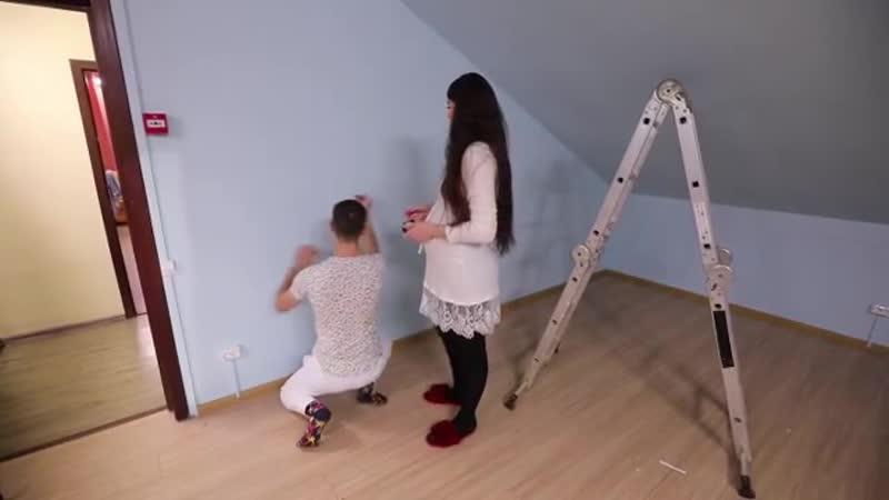 Dom2magazine Оля и Дима Дмитренко начали подготовку к переезду в дом Алены!