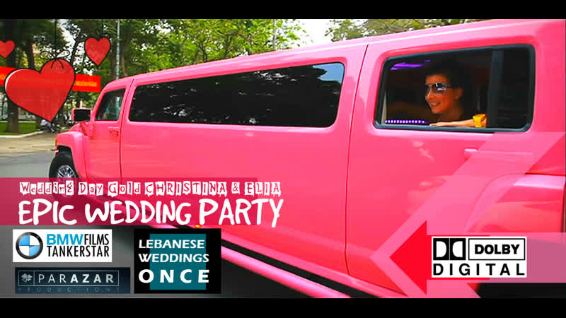 BMW FILMS Epic Wedding Party Beirut ©звук Dolby Digital формат видео для ВК