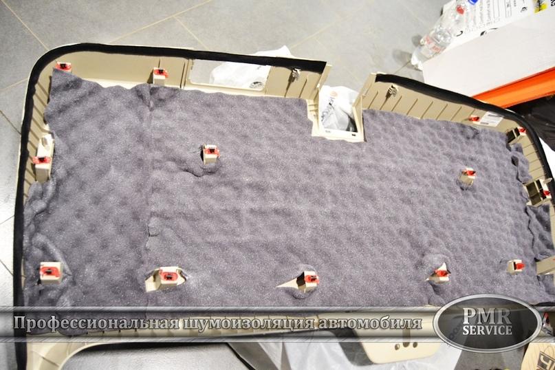 Шумоизоляция Cadillac Escalade ESV, изображение №12