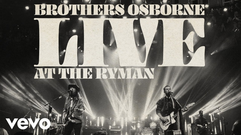 Brothers Osborne Tequila Again Live At The Ryman Audio