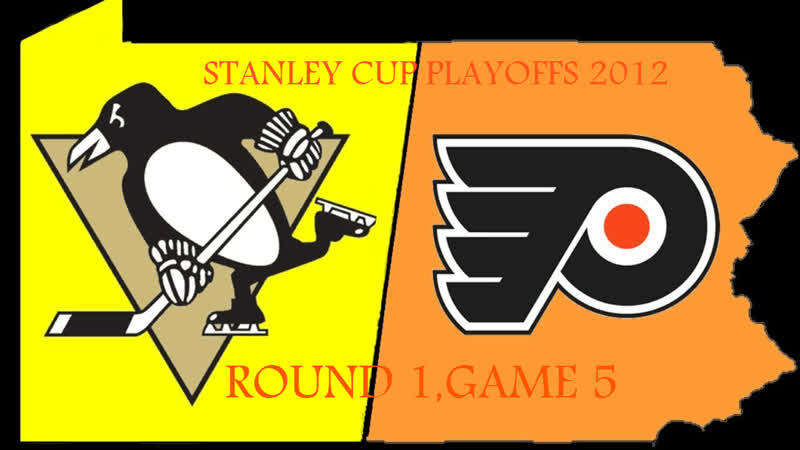 Stanley Cup Playoffs 2012 R1 Game 5 Philadelphia Flyers Pittsburgh Penguins
