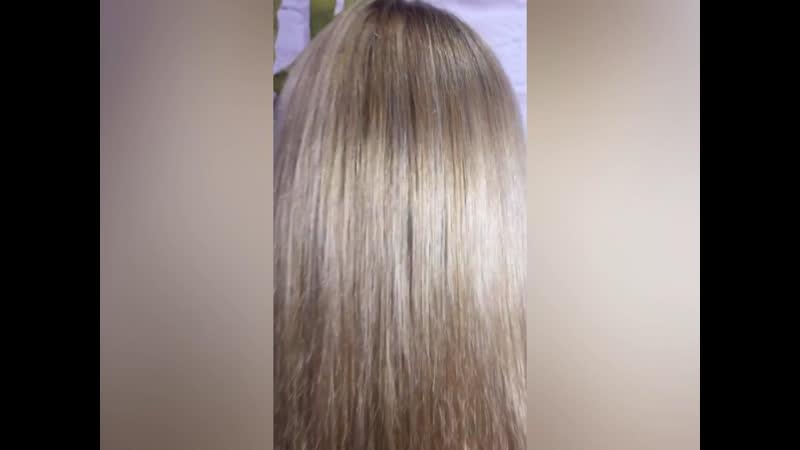 Мелирование блонд от Акварель