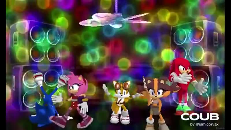Sonic Boom Party at Amy's House