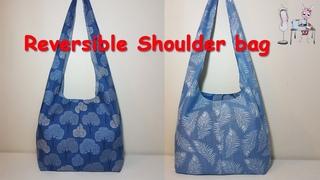 DIY Reversible shoulder bag | boho bag | Coudre un sac | Bolsa de bricolaje | | | мешок