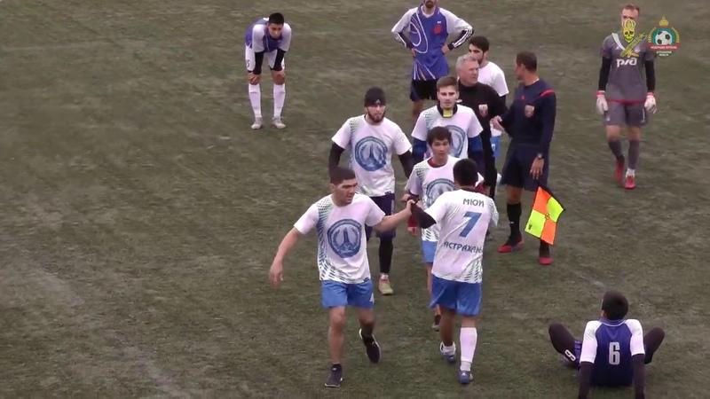 Астраханские футболисты не поделили мяч