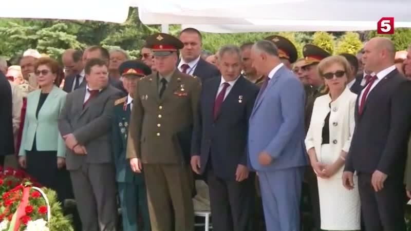 Шойгу передал Додону рассекреченные документы о зверствах фашистов в Кишиневе