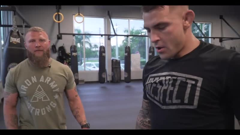 Upper Body Dynamic Effort and Cognitive Training - Dustin Poirier