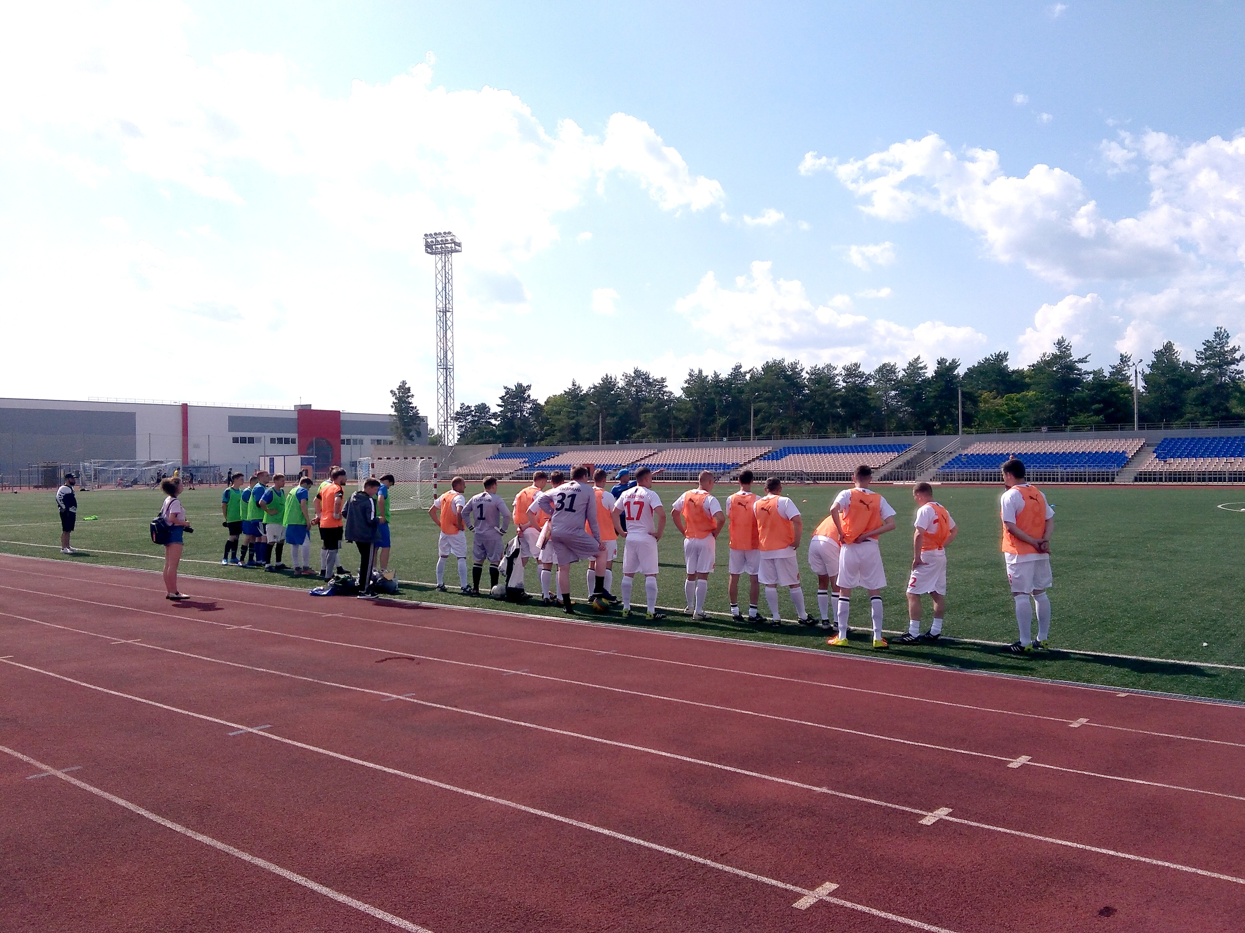 ФК КПРФ Сызрань открыл турнир по мини-футболу 2020