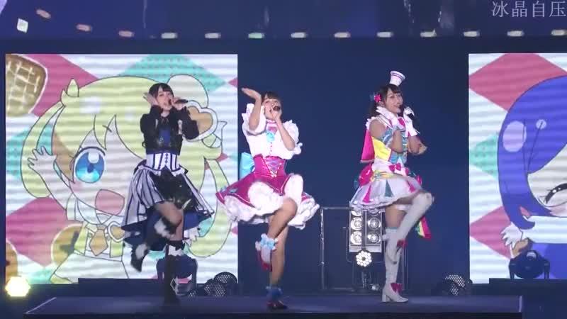 Coco Hayashi, Miyu Kubota Nanami Atsugi — «Otome Attention Please» (Minna de Kiratto Pretty Live 2018)