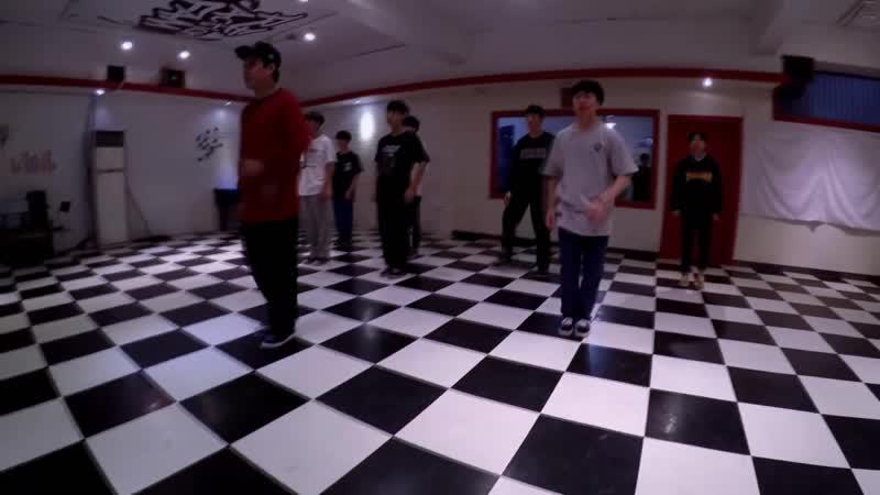 PREDEBUT Chan @ SHINGO NELI L POPPIN CLASS Reaction Dance Studio 리액션댄스스쿨