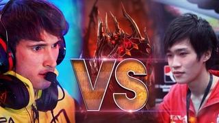 LEGEND vs LEGEND - YaphetS vs Dendi - EPIC Shadow Fiend Gameplay Compilation Battle Dota 2