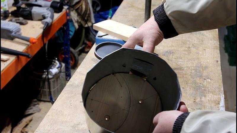 Прототип дробилки для перговых сот
