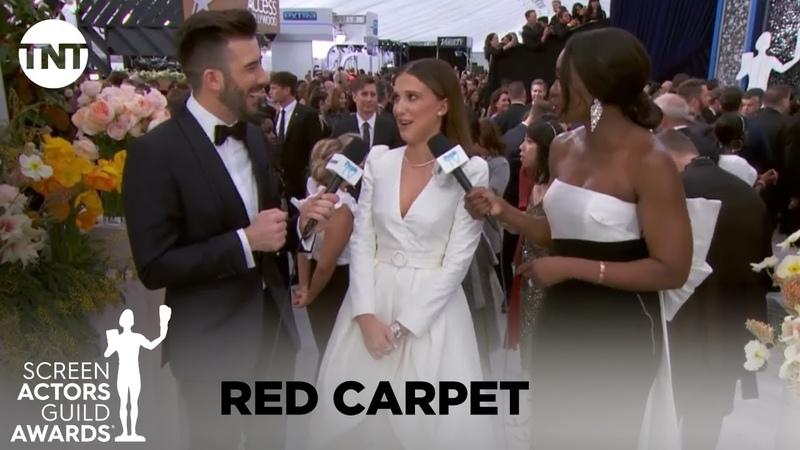 Millie Red Carpet SAG Awards Interview смотреть онлайн без регистрации