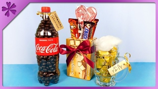 DIY 3 sweet and easy gifts for Father's Day, Mother's Day (ENG Subtitles) - Speed up #496